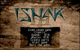 Ishar 3: The Seven Gates of Infinity Atari ST Main menu