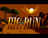 Big Run Amiga Title screen #1