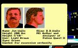 Police Quest 2: The Vengeance DOS Part of the introduction; meet those responsible (EGA/MCGA/Tandy)
