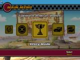 Disney•Pixar Cars Macintosh Main Menu