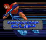 Cannondale Cup SNES Title screen