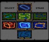 Cannondale Cup SNES Select a stage.