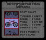 Cannondale Cup SNES Select a bike.