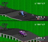 RPM Racing SNES I am passing a mine. Hitting it explodes me instantly.