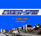 Cyber Spin SNES New game or enter password