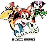 Titus the Fox: To Marrakech and Back Game Boy Color Titus the Fox and friends