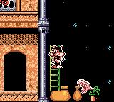Titus the Fox: To Marrakech and Back Game Boy Color I made a ladder appear.