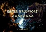 The Lost World: Jurassic Park Genesis Password screen