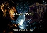 The Lost World: Jurassic Park Genesis Game over