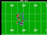 Joe Montana Football SEGA Master System The player is downed 30 yards in.