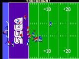 Joe Montana Football SEGA Master System It is a touchdown for the computer.