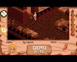 Indiana Jones and The Fate of Atlantis: The Action Game Amiga Demo mode