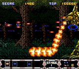 Thunder Spirits SNES One of his attacks