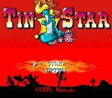Tin Star SNES Title screen