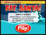 Fat Santa! Browser Title screen and instructions