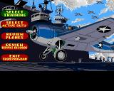 Battlehawks 1942 Amiga Main menu
