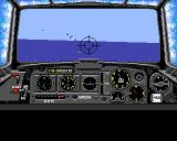Battlehawks 1942 Amiga Cockpit front view