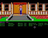 Maniac Mansion Amiga In front of the house