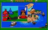 Peter Pan Atari ST This girl is very unhappy, you have to help her!
