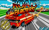 RoadBlasters Atari ST Title screen