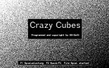 Crazy Cubes Atari ST Title screen