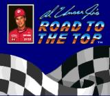 Al Unser Jr.'s Road to the Top  SNES Title screen