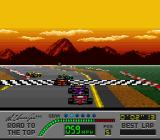 Al Unser Jr.'s Road to the Top  SNES Indy race
