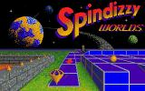 Spindizzy Worlds Amiga Title screen