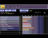 X-COM: UFO Defense Amiga Soldier stats screen