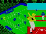 Championship Baseball ZX Spectrum Blue team ready to pitch...