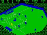 Championship Baseball ZX Spectrum A hit! Running to first base...