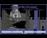 X-COM: UFO Defense Amiga Purchase equipment / Hire personnel
