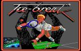 Tie Break DOS Title screen (EGA)