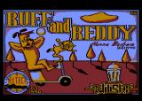 Ruff and Reddy in the Space Adventure Atari 8-bit Loading screen