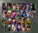Ultimate Mortal Kombat 3 SNES Select your fighter. Ultimate Mortal Kombat 3 has no less than 23 fighters!