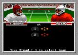 Bill Walsh College Football  Genesis Controller setup