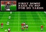 Bill Walsh College Football  Genesis First down