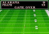 Bill Walsh College Football  Genesis The final score