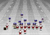 Bill Walsh College Football  Genesis Playing in snow.