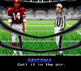 Bill Walsh College Football  SNES Coin toss