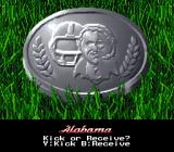 Bill Walsh College Football  SNES Kick or receive.