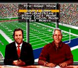 Bill Walsh College Football  SNES Pre-game options