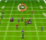Bill Walsh College Football  SNES Returning the kick.