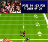 Bill Walsh College Football  SNES Fans cheering.