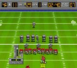 Bill Walsh College Football  SNES Kicking a field goal.