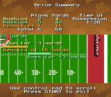 Bill Walsh College Football  SNES Drive summary