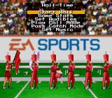 Bill Walsh College Football  SNES Halftime show