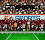 Bill Walsh College Football  SNES Final score