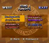 Bill Walsh College Football  SNES All time playoffs