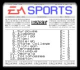 Bill Walsh College Football  SNES Standings